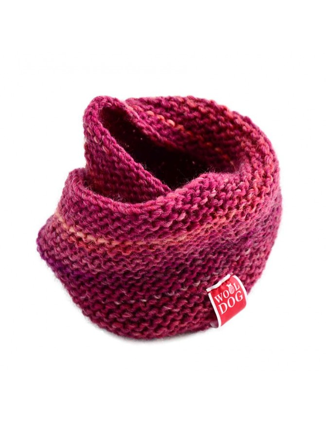 HOLI AMARANTH RED COWL