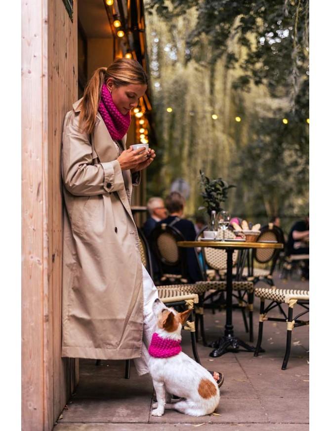 Komin Wooldog dla Ciebie i Twojego psa | FUKSJA